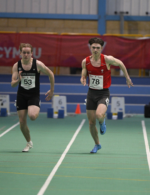 _GRG6113.jpg :: in action during the Welsh Junior Athletics Championships 2019 at N.I.A.C Cardiff United Kingdom on February 02 2019 Graham / GlennSports
