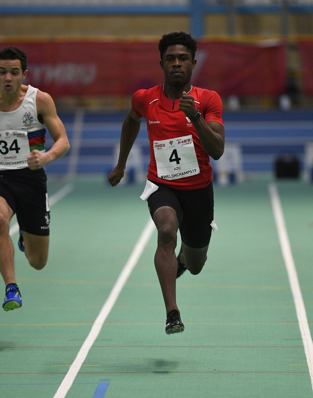 _GRG6124.jpg :: in action during the Welsh Junior Athletics Championships 2019 at N.I.A.C Cardiff United Kingdom on February 02 2019 Graham / GlennSports
