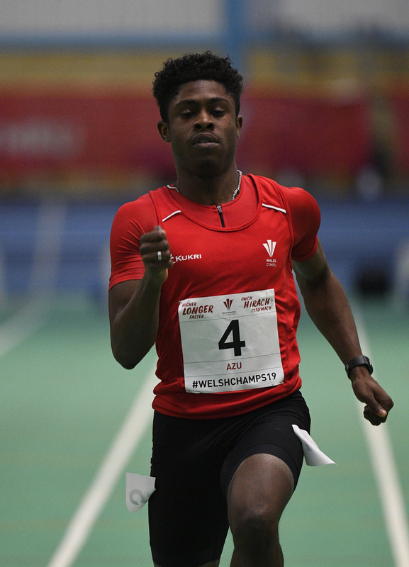 _GRG6127.jpg :: in action during the Welsh Junior Athletics Championships 2019 at N.I.A.C Cardiff United Kingdom on February 02 2019 Graham / GlennSports