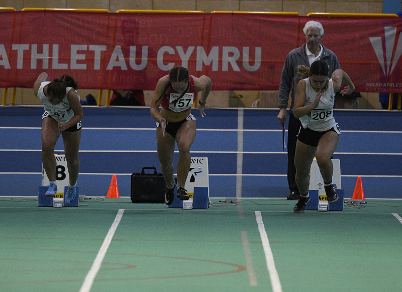 _GRG6130.jpg :: in action during the Welsh Junior Athletics Championships 2019 at N.I.A.C Cardiff United Kingdom on February 02 2019 Graham / GlennSports