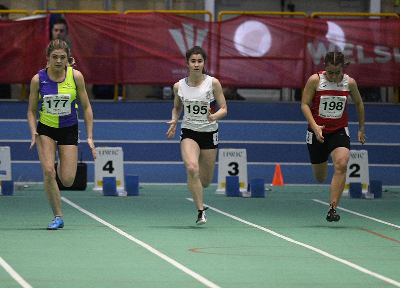 _GRG6134.jpg :: in action during the Welsh Junior Athletics Championships 2019 at N.I.A.C Cardiff United Kingdom on February 02 2019 Graham / GlennSports