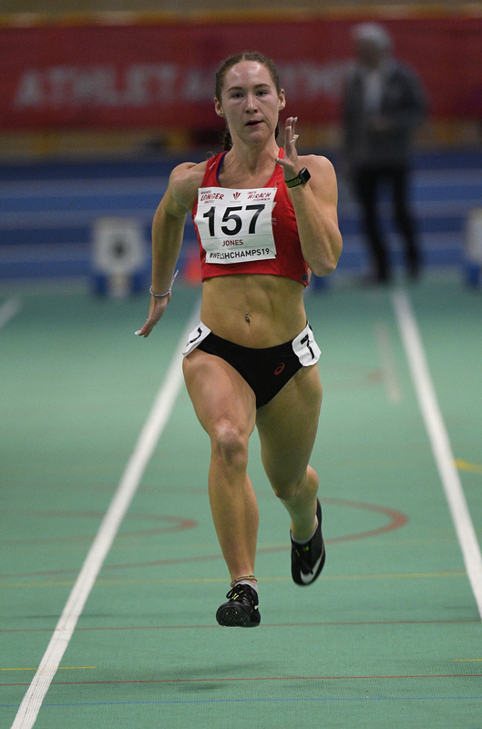 _GRG6135.jpg :: in action during the Welsh Junior Athletics Championships 2019 at N.I.A.C Cardiff United Kingdom on February 02 2019 Graham / GlennSports