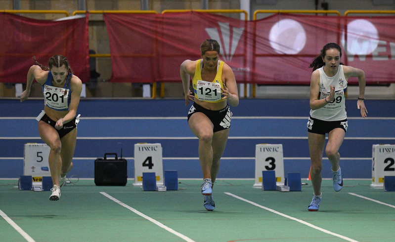 _GRG6142.jpg :: in action during the Welsh Junior Athletics Championships 2019 at N.I.A.C Cardiff United Kingdom on February 02 2019 Graham / GlennSports