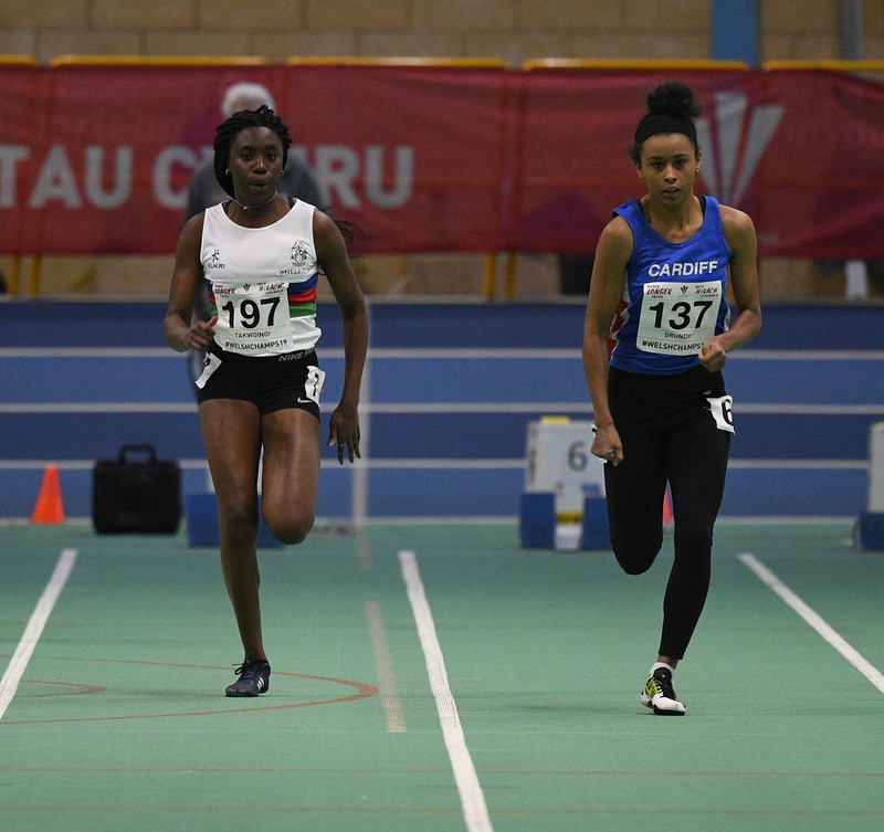 _GRG6144.jpg :: in action during the Welsh Junior Athletics Championships 2019 at N.I.A.C Cardiff United Kingdom on February 02 2019 Graham / GlennSports