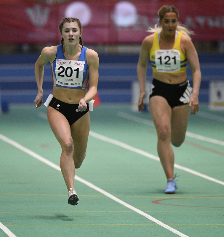 _GRG6146.jpg :: in action during the Welsh Junior Athletics Championships 2019 at N.I.A.C Cardiff United Kingdom on February 02 2019 Graham / GlennSports