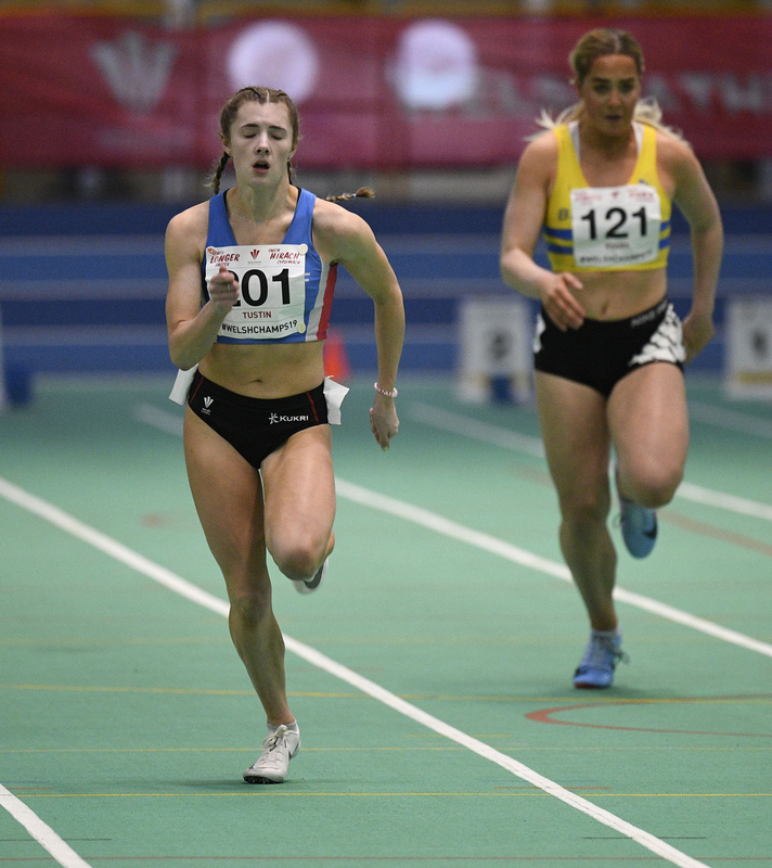 _GRG6147(1).jpg :: in action during the Welsh Junior Athletics Championships 2019 at N.I.A.C Cardiff United Kingdom on February 02 2019 Graham / GlennSports