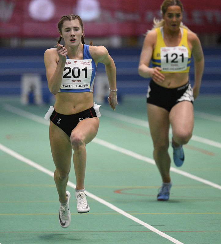 _GRG6149(1).jpg :: in action during the Welsh Junior Athletics Championships 2019 at N.I.A.C Cardiff United Kingdom on February 02 2019 Graham / GlennSports