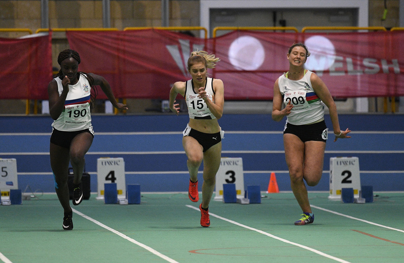 _GRG6152.jpg :: in action during the Welsh Junior Athletics Championships 2019 at N.I.A.C Cardiff United Kingdom on February 02 2019 Graham / GlennSports