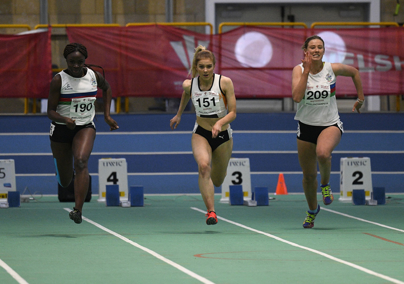 _GRG6153.jpg :: in action during the Welsh Junior Athletics Championships 2019 at N.I.A.C Cardiff United Kingdom on February 02 2019 Graham / GlennSports