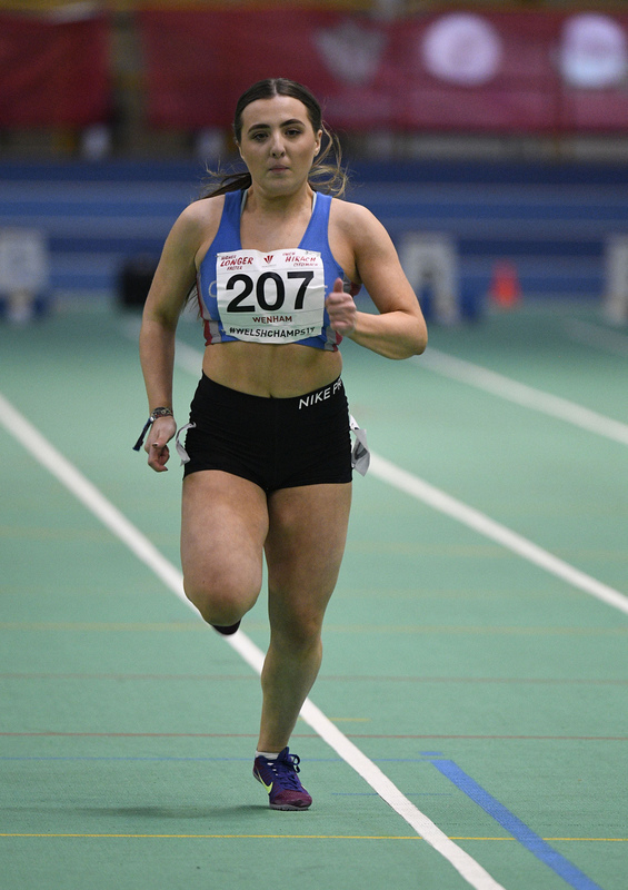 _GRG6155.jpg :: in action during the Welsh Junior Athletics Championships 2019 at N.I.A.C Cardiff United Kingdom on February 02 2019 Graham / GlennSports