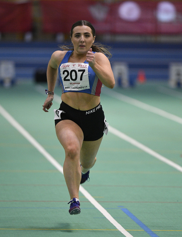 _GRG6156(1).jpg :: in action during the Welsh Junior Athletics Championships 2019 at N.I.A.C Cardiff United Kingdom on February 02 2019 Graham / GlennSports