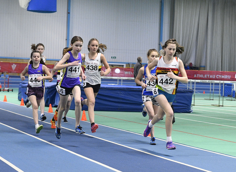 _GRG6161(1).jpg :: in action during the Welsh Junior Athletics Championships 2019 at N.I.A.C Cardiff United Kingdom on February 02 2019 Graham / GlennSports