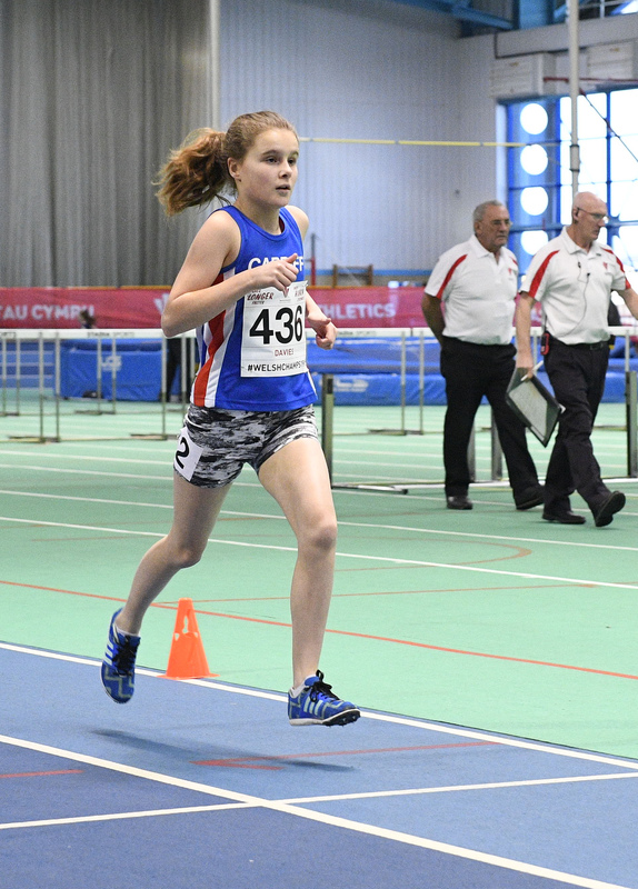 _GRG6163.jpg :: in action during the Welsh Junior Athletics Championships 2019 at N.I.A.C Cardiff United Kingdom on February 02 2019 Graham / GlennSports