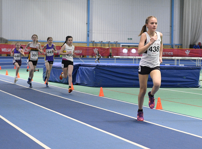 _GRG6164.jpg :: in action during the Welsh Junior Athletics Championships 2019 at N.I.A.C Cardiff United Kingdom on February 02 2019 Graham / GlennSports