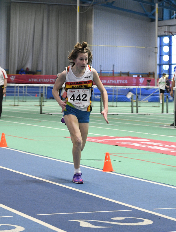 _GRG6168.jpg :: in action during the Welsh Junior Athletics Championships 2019 at N.I.A.C Cardiff United Kingdom on February 02 2019 Graham / GlennSports