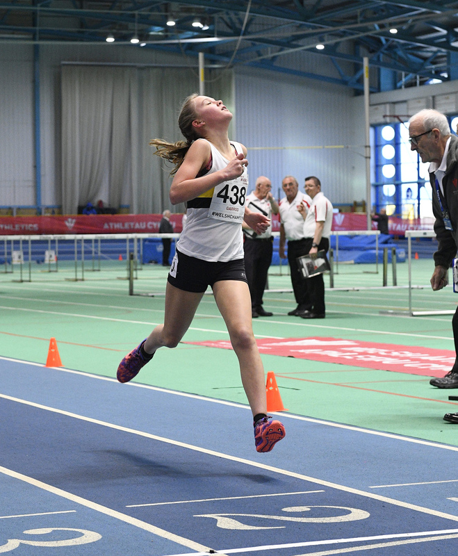 _GRG6169.jpg :: in action during the Welsh Junior Athletics Championships 2019 at N.I.A.C Cardiff United Kingdom on February 02 2019 Graham / GlennSports