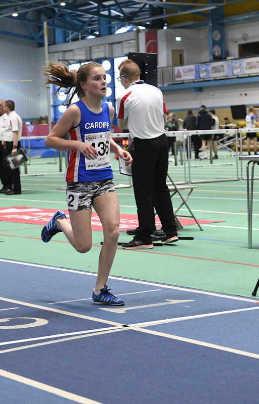 _GRG6170.jpg :: in action during the Welsh Junior Athletics Championships 2019 at N.I.A.C Cardiff United Kingdom on February 02 2019 Graham / GlennSports