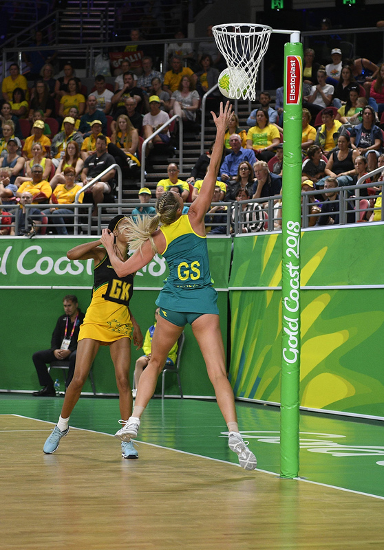 _GRG9839.jpg :: Wales v Scotland in action during Gold Coast 2018 Games at Gold Coast Convention Centre Gold Coast Australia on April 11 2018. Graham / GlennSports.