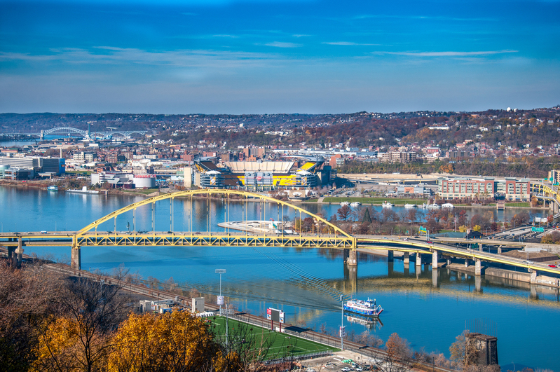 UP-2223(1).jpg :: Shot from Mount Washington in Pittsburgh.