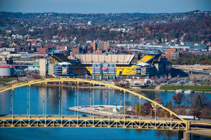 UP-2225(1).jpg :: Shot from Mount Washington in Pittsburgh.