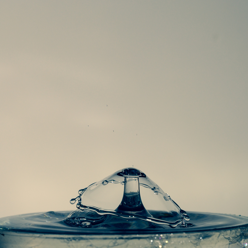 UP6_5558.jpg :: Water drop collision art.                                             #waterdrop #waterart #blackandwhite, #photooftheday, #drop, #water, #liquid