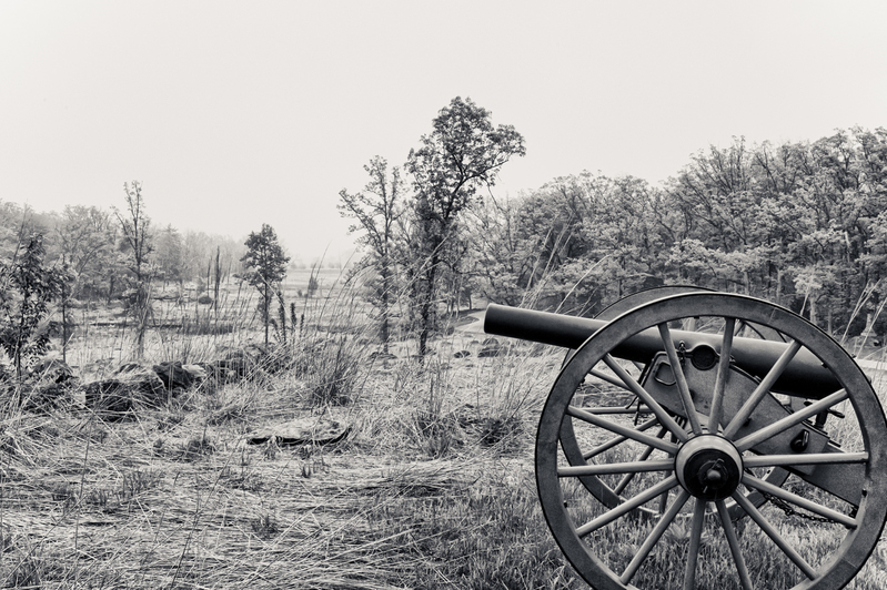 UP6_5714-65-2.jpg :: Gettysburg in Black and White