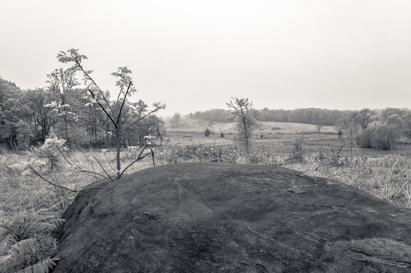 UP6_5719.jpg :: Gettysburg in Black and White