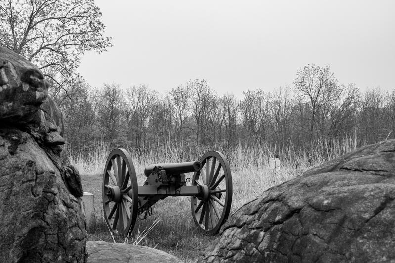 UP6_5722-2.jpg :: Gettysburg in Black and White