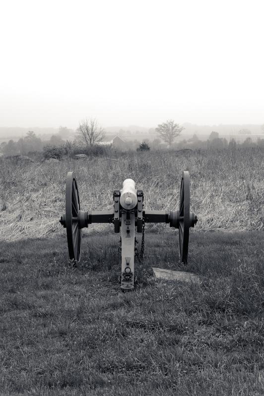 UP6_5734-2.jpg :: Gettysburg in Black and White