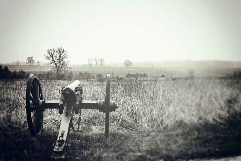 UP6_5737-2-66.jpg :: Gettysburg in Black and White