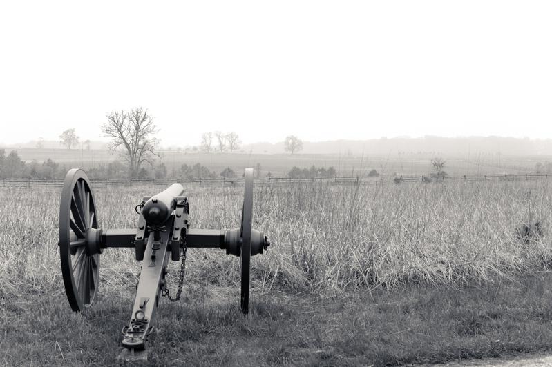 UP6_5737-2.jpg :: Gettysburg in Black and White