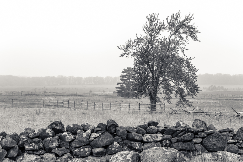 UP6_5742-2.jpg :: Gettysburg in Black and White