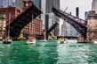 Chicago River - La Salle Street and Clark Street Bridges - Chicago IL.jpg