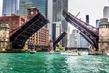 Chicago River - La Salle Street and Clark Street Bridges 2 - Chicago IL.jpg