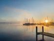 Sunrise and Marina at Magothy.jpg