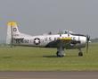 NORTH AMERICAN T-28 FENNEC 17692 G-TROY TL-692 P1010686.jpg
