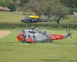 EUROCOPTER SQUIRREL HT1 ZJ277 WESTLAND SEA KING ZA167 DAWLISH 2012  P6083423.jpg