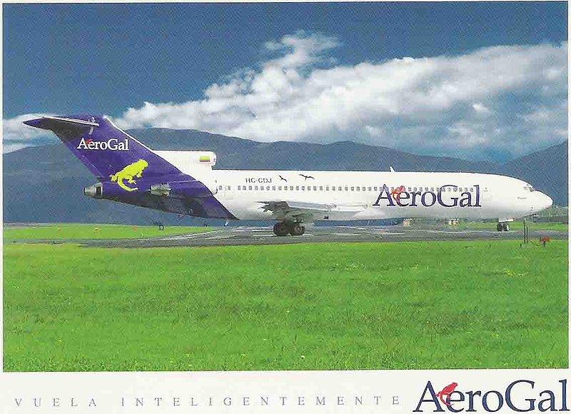 AeroGal B727 AI 2.jpg :: AeroGal, Ecuador