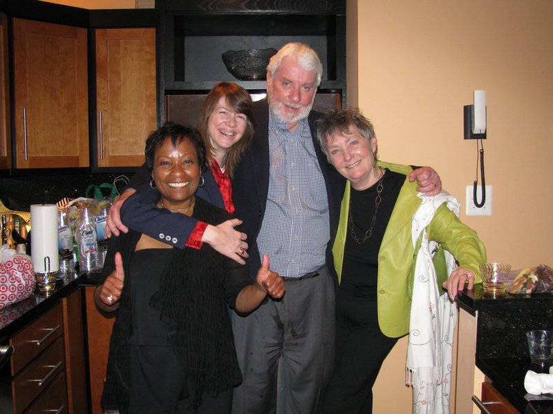 Susan with news colleagues Karen Gray Houston Patrick McGrath and Mary Anne    Picture 063.jpg