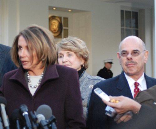 Speaker Nancy Pelosi  House Cmte Chairs at WH 481.jpg