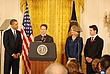 Obama . Geithner in East Room - Small Business Recovery 575.jpg