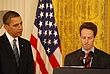 Obama . Geithner in East Room - Small Business Recovery 578.jpg