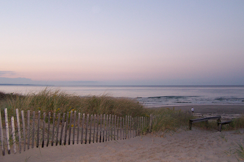 Cape Cod Beach at Sunset.jpg