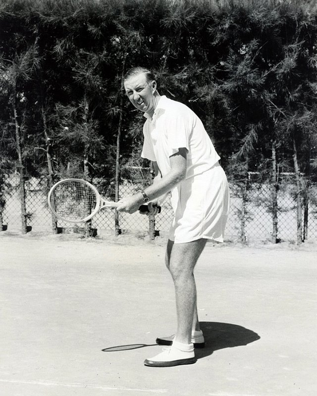 CELEBRITIES 2-390 Don Budge tennis legend c. 1943 in Miami.1.jpg