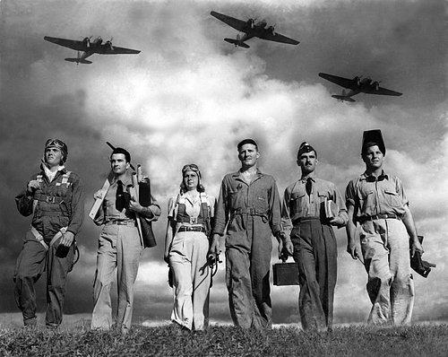 AVIATION 1-007 WW II aviation workers on flight line-retouched WIP.jpg