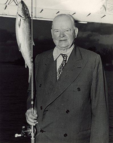 CELEBRITIES (2-316LR) President Herbert Hoover fishing in Miami.jpg