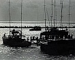 LANDSCAPES and SCENICS (8-027LR) BOATS AT DOCK. IN SILHOUETTE.jpg