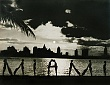 PUBLICITY (11-005LR) Miami name made out of MODELS bodies in silhouette 1930.jpg