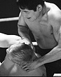 Dave Larsen(L) v Togo Tani(tights)  edited  Mar67.jpg