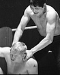 Dave Larsen(L) v Togo Tani(tights)1  edited  Mar67.jpg